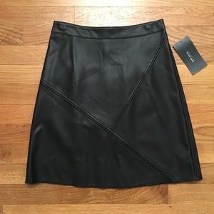 Zara vegan leather skirt